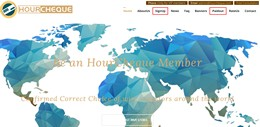 HYIP hourcheque.com screenshot home page