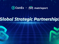 Coinex announces partnership with matrixport