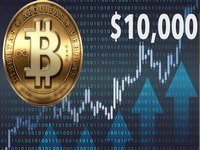 Bitcoin rate exceeded 10k usd