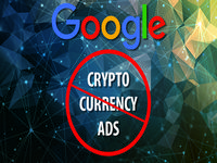 Google to ban crypto currency ad